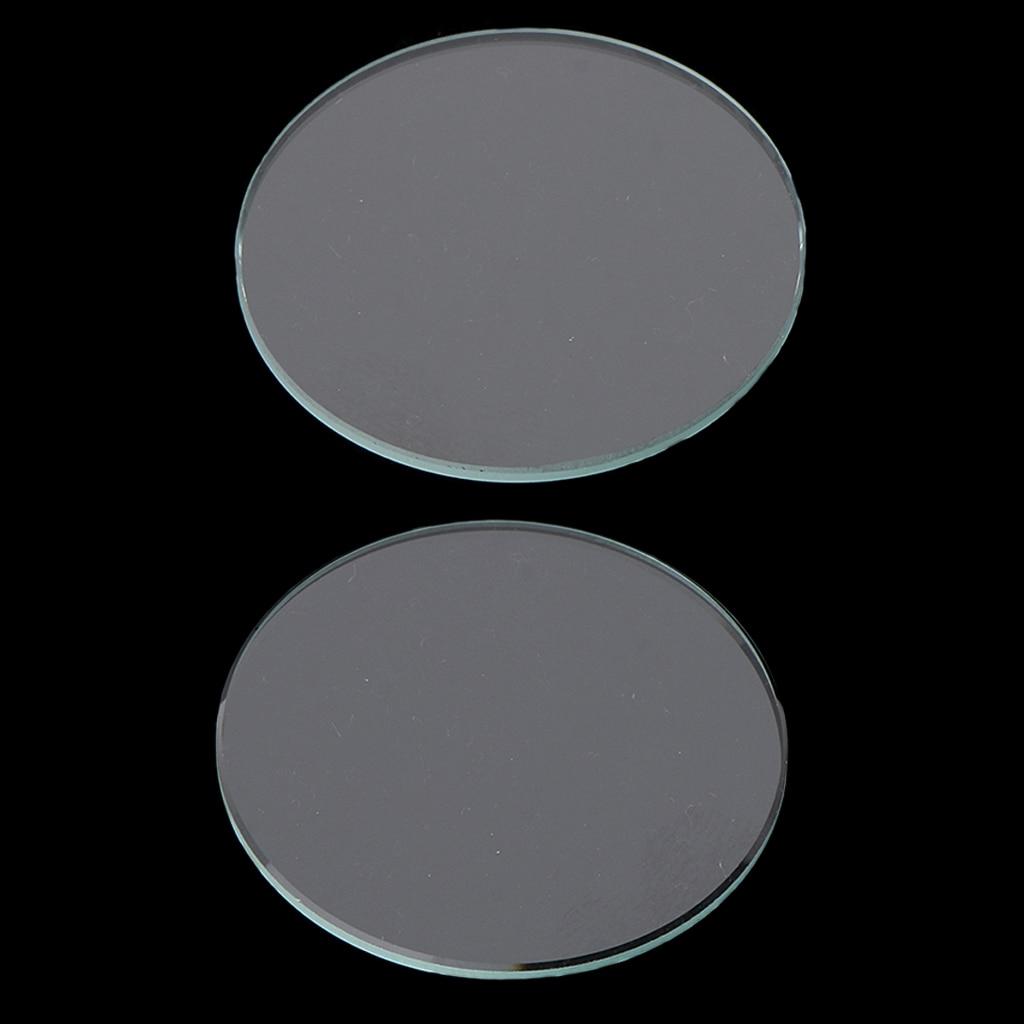 Reloj plano 20 piezas de 1mm, cristal Mineral, piezas de reloj de 29,5mm/29mm de diámetro