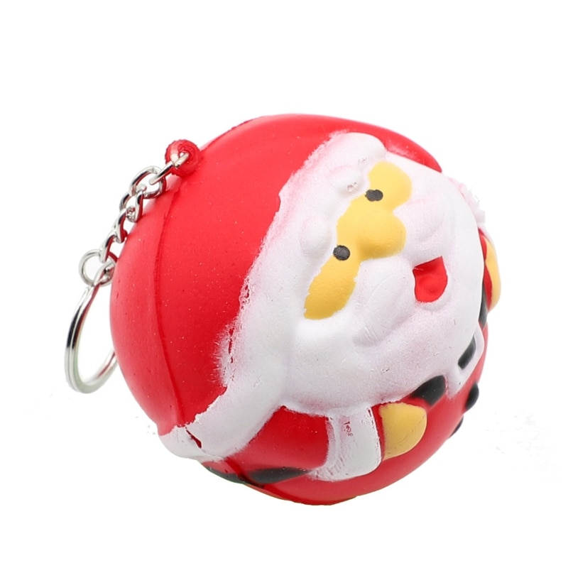 Christmas Gift Xmas Squishy Squeeze Toys Slow Rising Cream Scented Antistress Child Kid Baby Toys enlarge