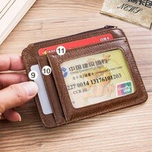 2020 Wallet Money Bag For Men Business Soft Clutch Fashion Leather Coin Purse Card Holder Male Casua
