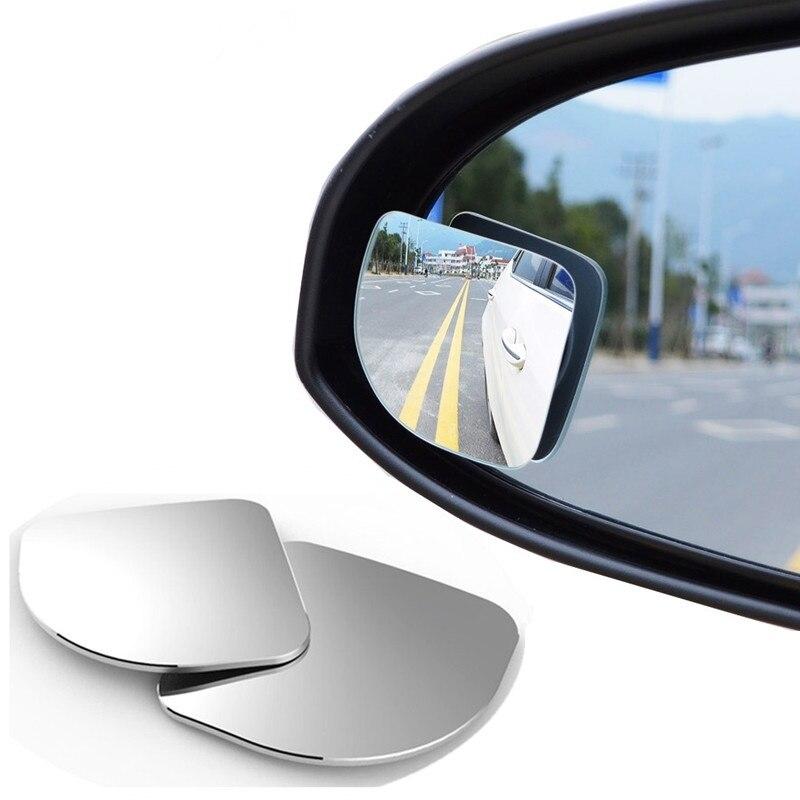 2 шт./лот регулируемое стекло высокой четкости выпуклая Автомобильная мотоциклетная слепое пятно зеркало для парковки зеркало заднего вида дождь тени