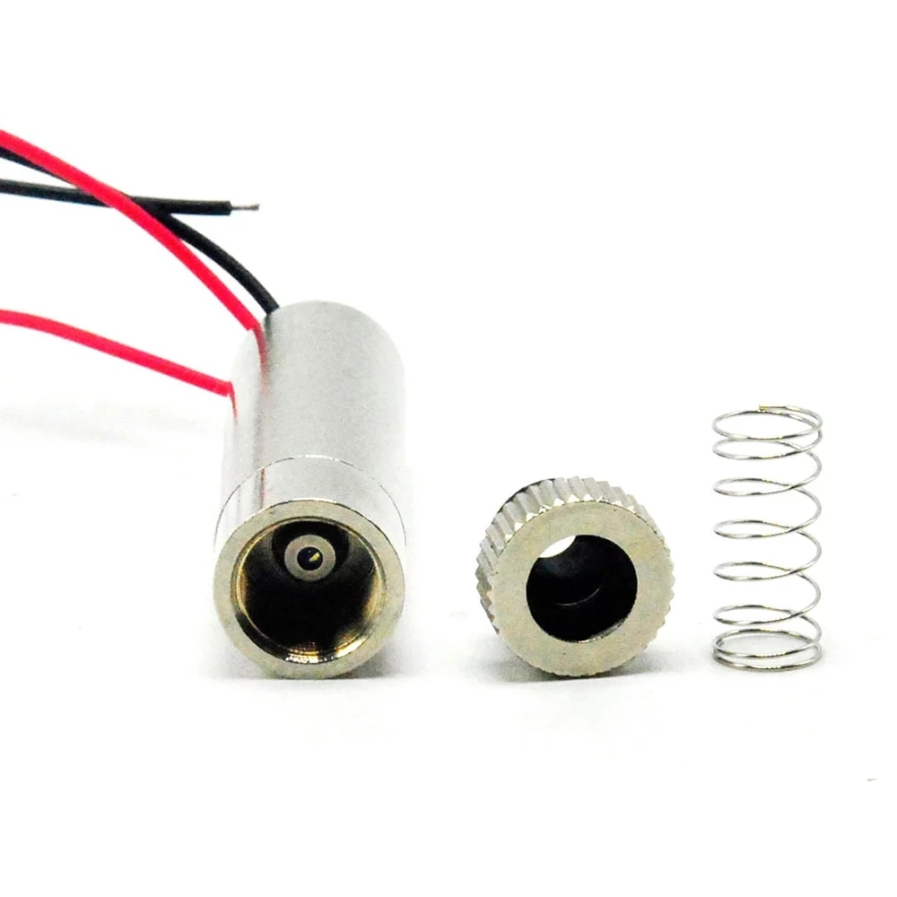 Регулируемый фиолетовый синий лазер диод модуль 405 нм 50 мВт 3V-5Vw фокус точка голова DIY