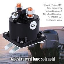 Brand New Solenoid Relay Curved Base 3 Post SAZ4201BJ This solenoid fits various For AMETEK and For Prestolite motors