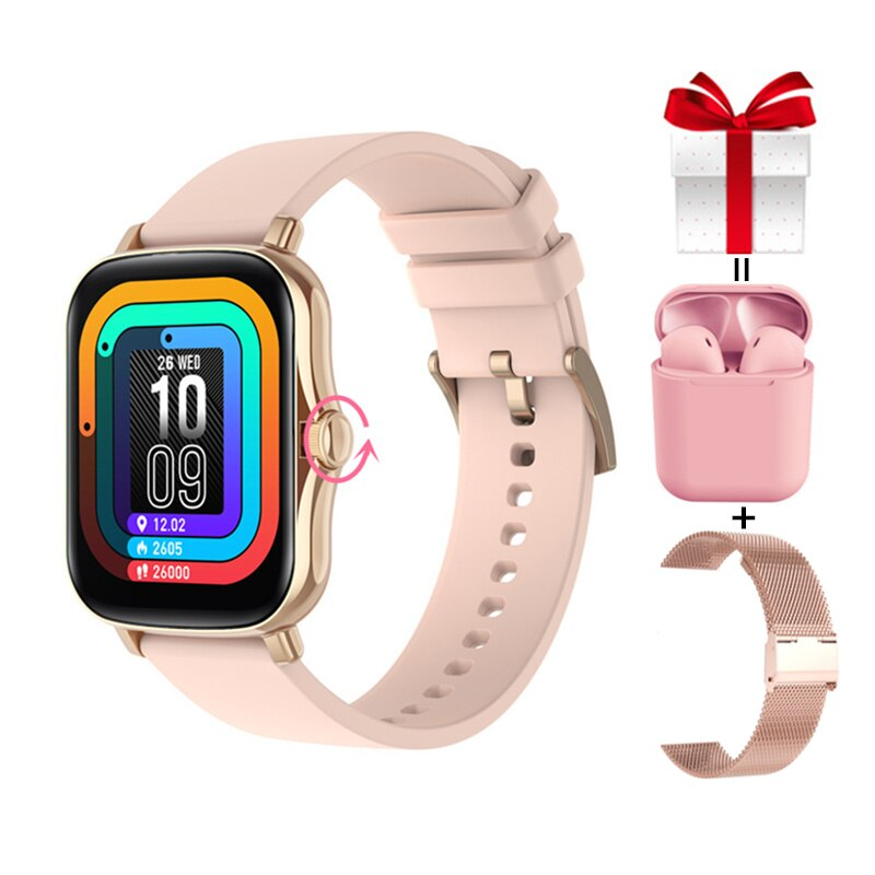 Rotação para Ios 2021 à Prova Esportes Relógio Inteligente Masculino Água Ip67 Aptidão Rastreador Smartver Feminino Botão Android vs Gts 2 p8 Plus Dip67