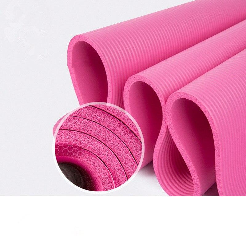 2020 183*61*1.5cm thickess antiderrapante yoga esteira esporte ginásio macio pilates esteiras dobrável para o equipamento de exercícios de fitness da construção do corpo