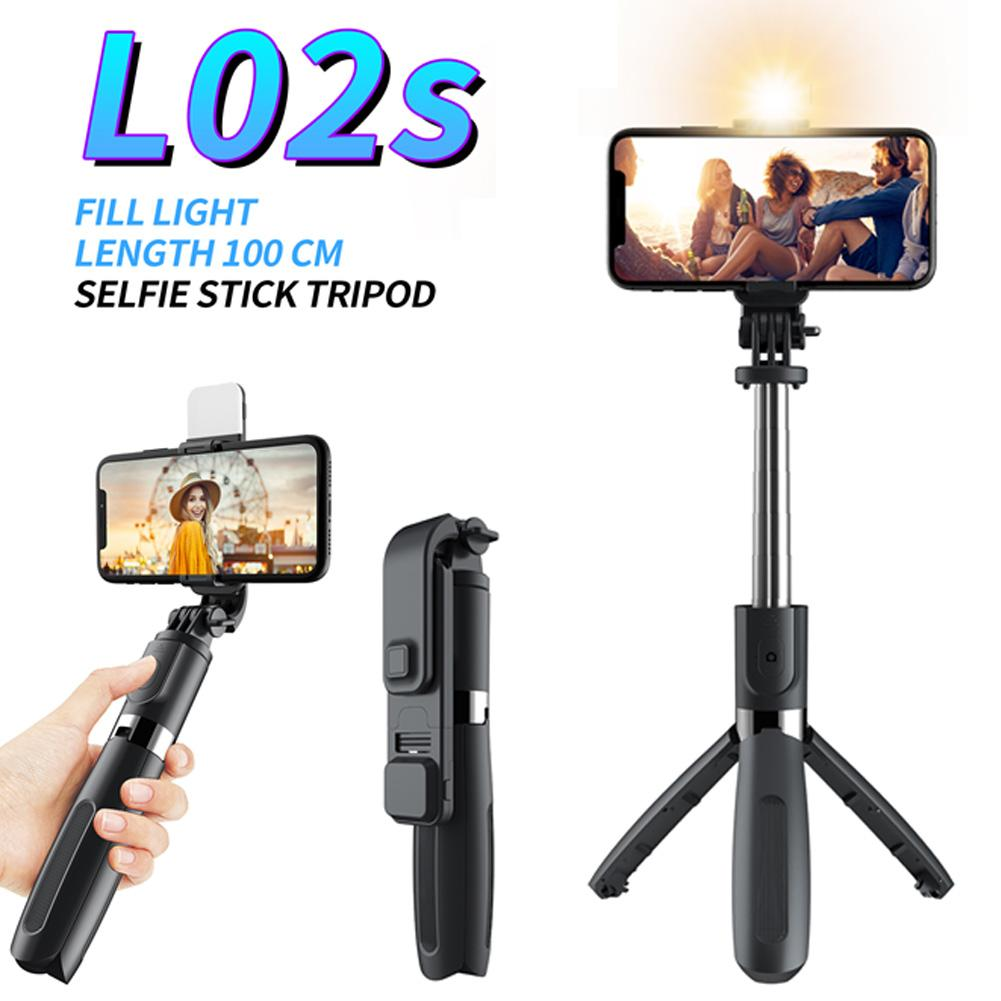 Selfie Stick Tripod Portable Camera Bracket with Fill Light Bluetooth Remote for Smartphone Selfie Stick Wireless Remote Phone
