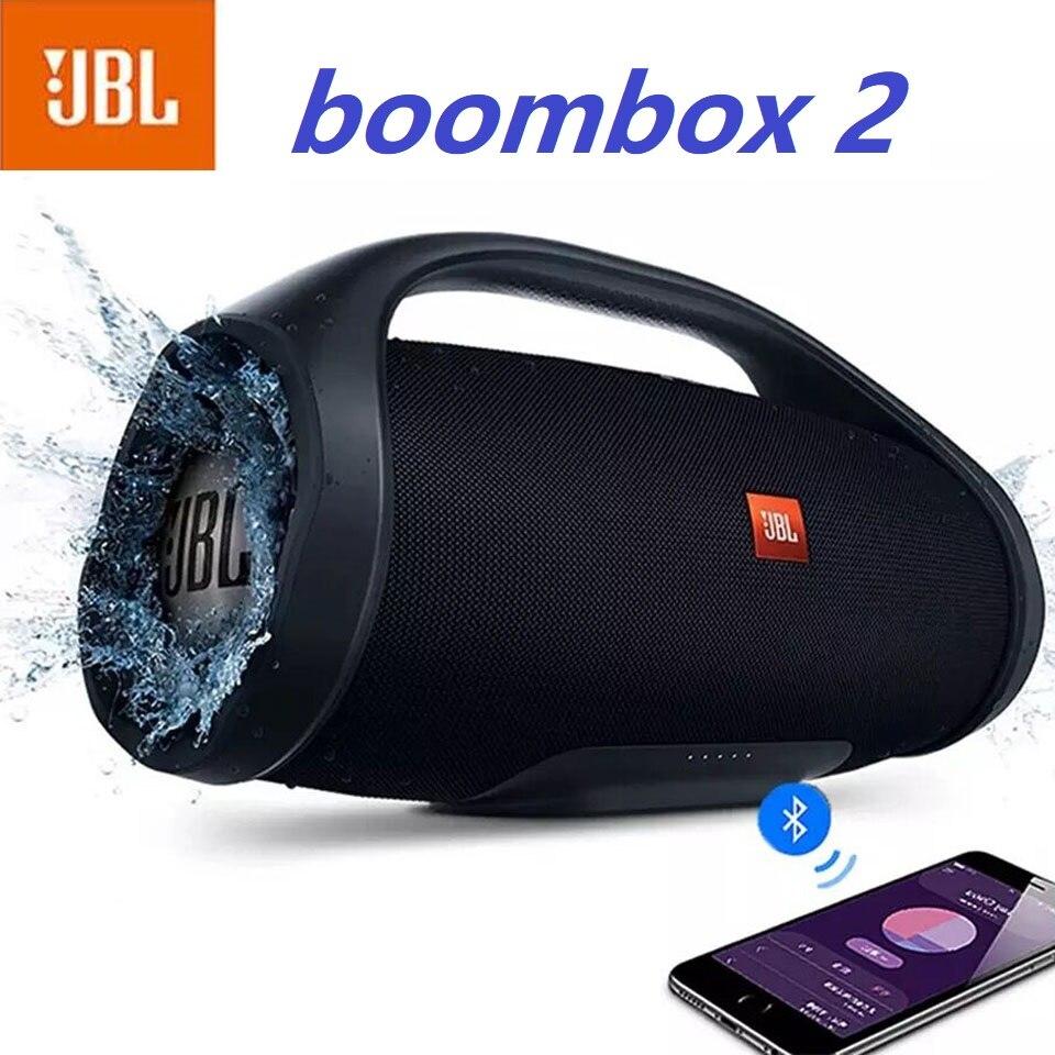 Jbl Boombox 2 مكبّر صوت مزود ببلوتوث مضخم صوت مقاوم للماء بلوتوث مكبر صوت لاسلكي صندوق الصوت Jbl Change 4 5