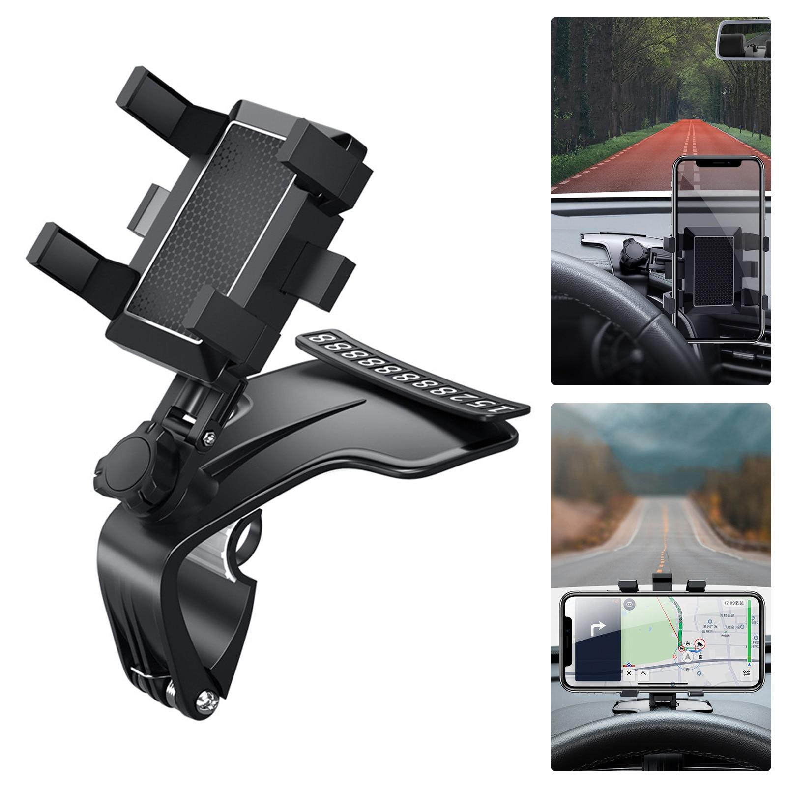 Car Mobile Phone Holder 360 Degree Rotating GPS Bracket Car Mount Mobile Holder For Car Accessories