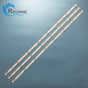820mm LED Backlight strip 8 lamp For 43'' TV ZX43ZC332M08A1 43T8S ONC18TV001 12-43K600-3030-0D35-3X8-170920 JL.D43081330-365AS-M