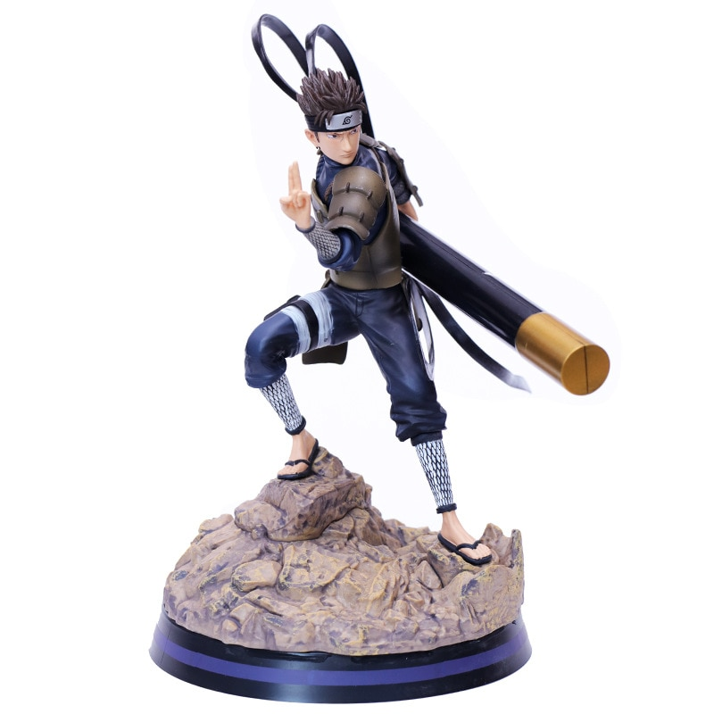 """10,63 """"Anime NARUTO Sarutobi Hiruzen 3th generación Hokage Orochimaru maestro GK figura de acción de juguete de modelos coleccionables Y34 27cm"""