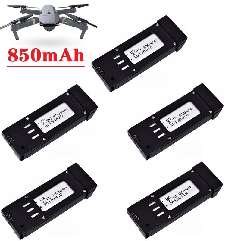 Upgraded Version 850mAh 3.7V Lipo Battery For E58 S168 JY019 RC Drone Quadcopter Spare Parts 3.7v Re
