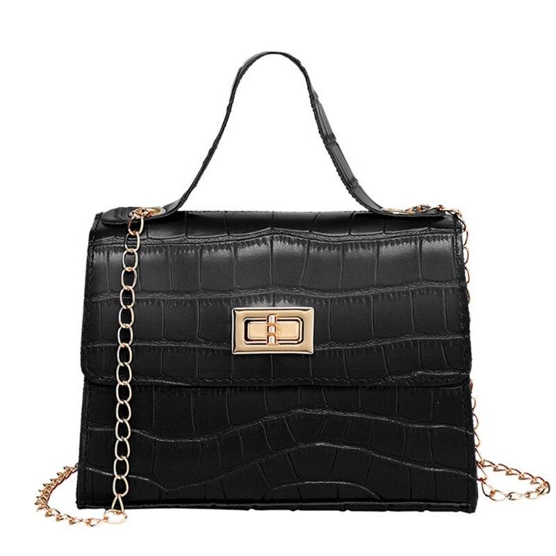 women pu leather handbag shoulder with scarf decor lady crossbody bag tote messenger satchel purse Women Ladies Crossbody PU Leather Shoulder Bag Tote Purse Handbag Messenger Satchel 066F