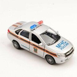 1/36th autotime russo série lada granta carro puxar para trás veículo presente brinquedo