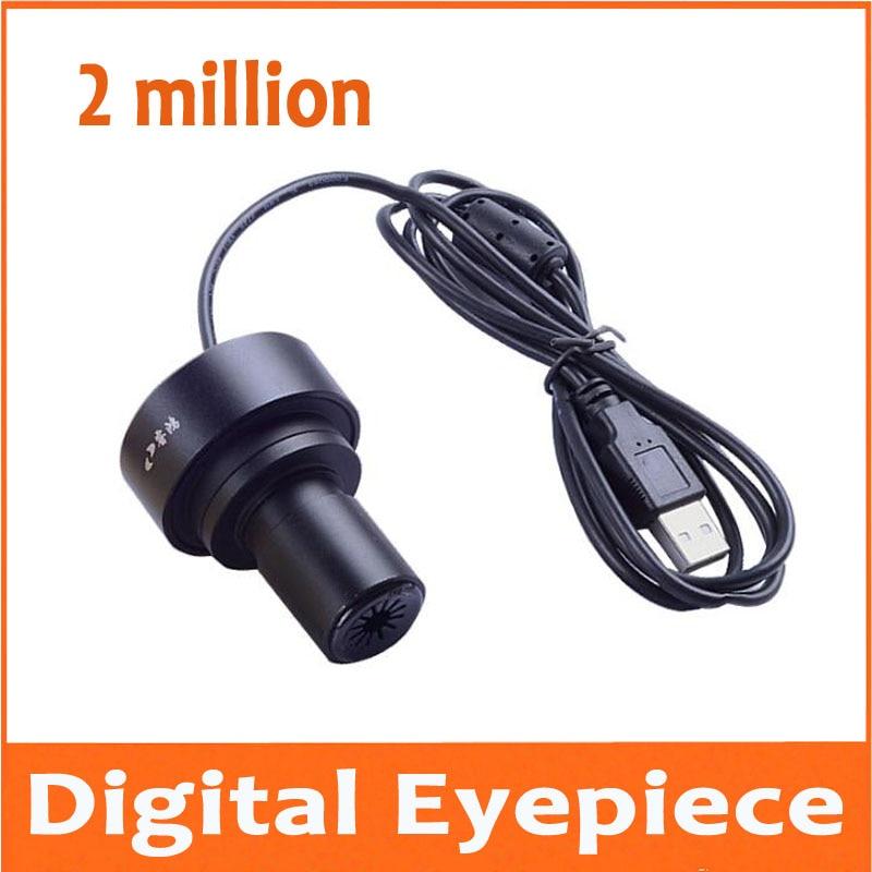 2 millions de pixels Microscopes oculaire électronique téléphone portable ordinateur peut se connecter à un ordinateur ou OTG interface mobile 23.2mm