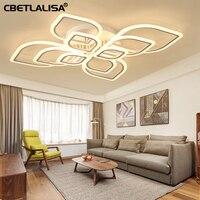 60% led modern chandeliers living room lamp bedroom dining room acrylic ceiling chandelier home indoor lighting