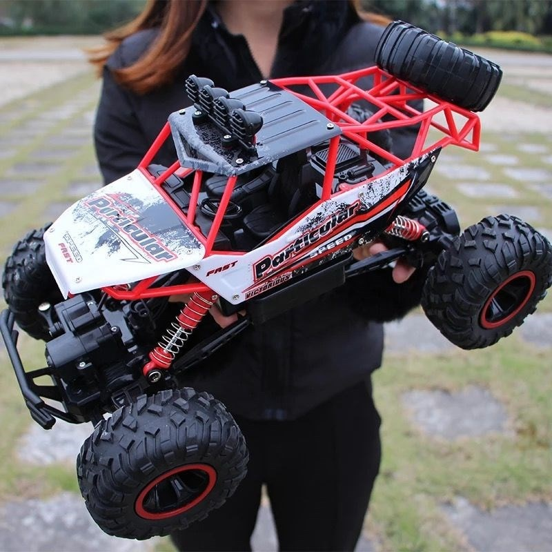 Rc car 1:12 4WD update version 2.4G radio remote control car car toy car 2021 high speed truck off-road truck children's toys enlarge