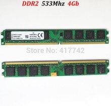 8Gb pamięci RAM DDR2 533 4 Gb / PC2-4200 PC2 4200 4G 533Mhz ddr 2 4g 4 gb (dla do procesorów AMD i Intel )-dożywotnia gwarancja