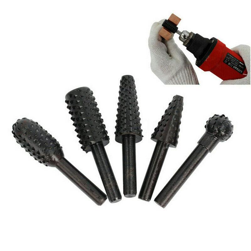 1/4 `` 5 pezzi set di punte da trapano per utensili da taglio per - Punta da trapano - Fotografia 6