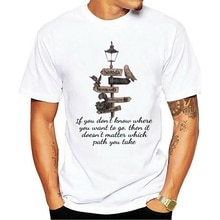 Narnia, poudlard, ever land, Panem, pays des merveilles t-shirt