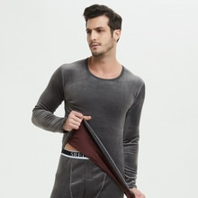Thick Warm Thermal Underwear Set Long Johns For Male Warm Thermal Clothing Men Woman Winter Suit Wea