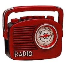 Mini rétro Radio Pianos caméras téléphone modèle Antique Imitation nostalgie sans fil ornement artisanat barre décor à la maison cadeau