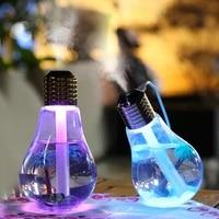 Colore ampoule humidificateur Air ultrasons USB 400ML huile essentielle diffuseur atomiseur desodorisant brumisateur pour le bureau a domicile