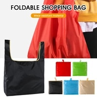 reusable folding grocery shopping bags thickened durable waterproof oxford cloth tote bags eco friendly home storage bags new
