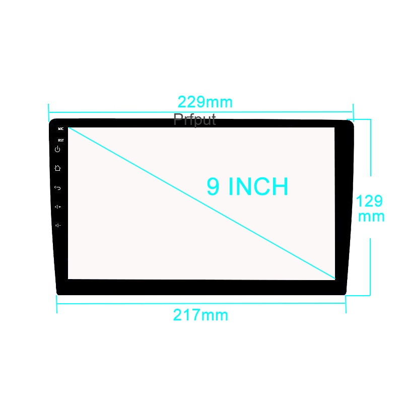 9 inch Tempered Glass Screen Protector Film for Junsun V1pro 2G+32G DSP Android10 9 inch Car Multimedia Player car Radio GPS