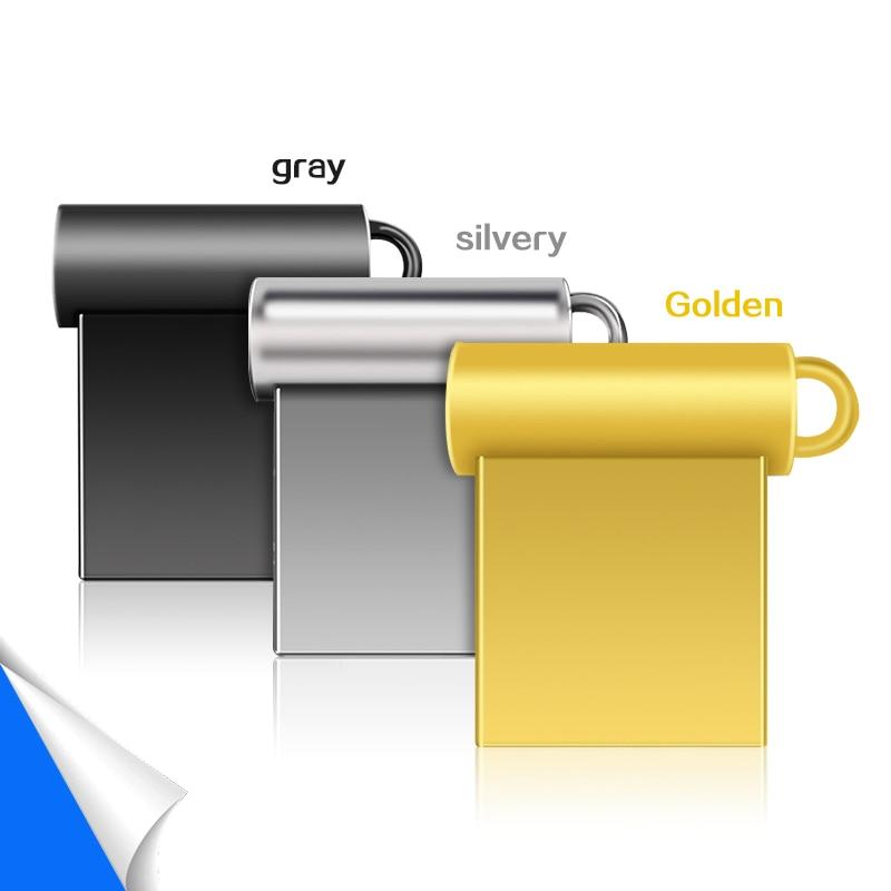 Новый мини металлический Usb флеш-накопитель 32 ГБ, флеш-накопитель 64 ГБ, высокоскоростная карта памяти, U-диск 128 ГБ, флеш-накопитель 2,0, Usb-карта