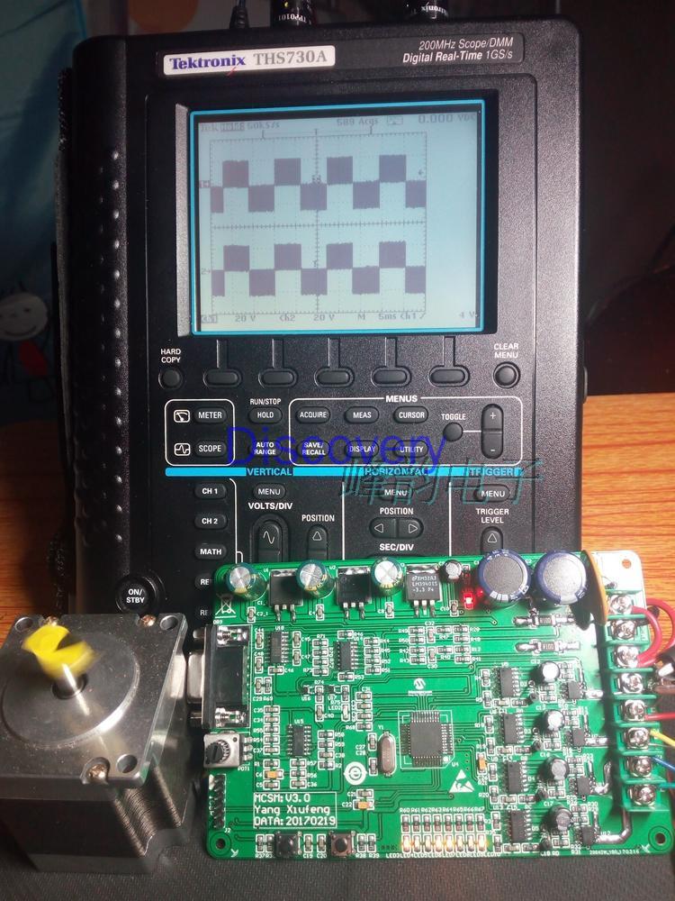 DsPICDEM MCSM محرك متدرج مجلس التنمية DsPIC33FJ32MC204 مجلس التنمية DM330022
