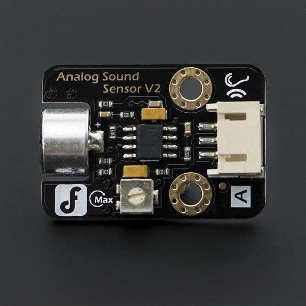شحن مجاني جعل ل DFrobot اللبنات الإلكترونية التناظرية الاستشعار MIC مستشعر صوت كابل نقل بيانات