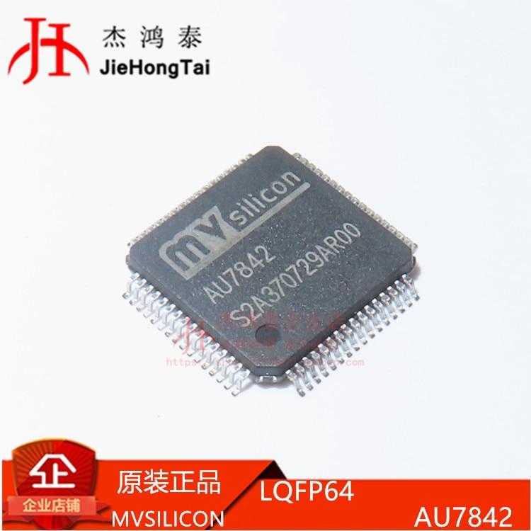 شحن مجاني AU7842 7842 LQFP-64 IC 10 قطعة