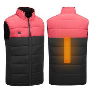 Men Women Outdoor Camping Hiking Warm Washable USB Winter Heating Vest Waistcoat