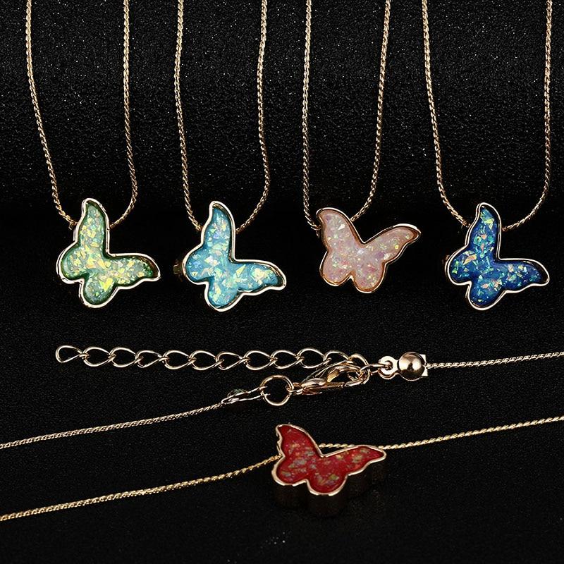 Женский винтажный кулон в виде бабочки IPARAM, ожерелье-чокер в богемном стиле с коротким горлом и воротником, ювелирное изделие в подарок