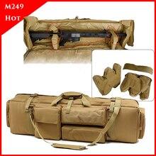 M249 Tactische Rugzak Zware Militaire Schieten Airsoft Paintball Rifle Bag Gun Case Hunting Bag Rifle Gun Holster