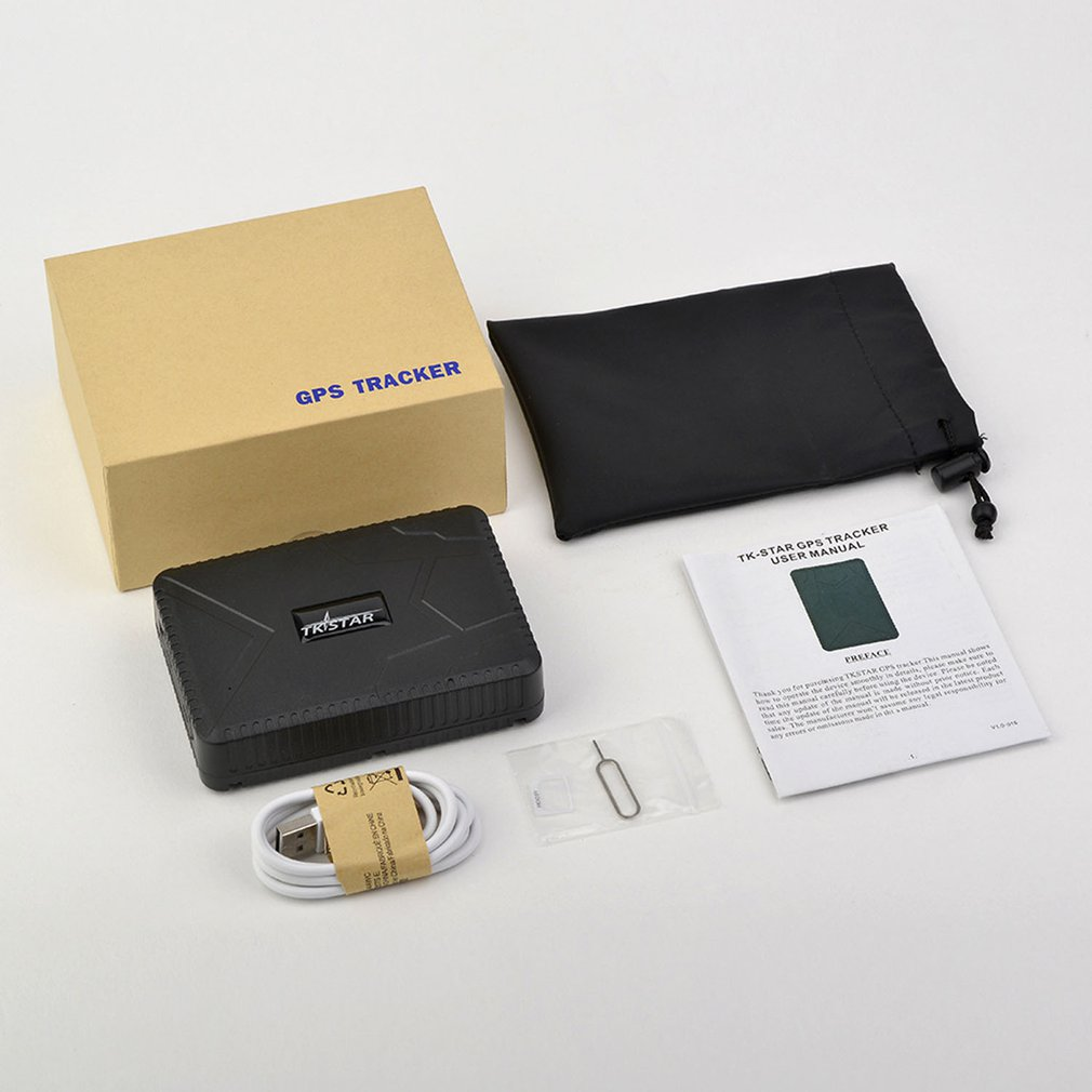Автомобильный GPS-трекер TK915, функция защиты от падений, GPS-локатор, водонепроницаемый GPS-трекер с большой емкостью аккумулятора, GPS-локатор дл...