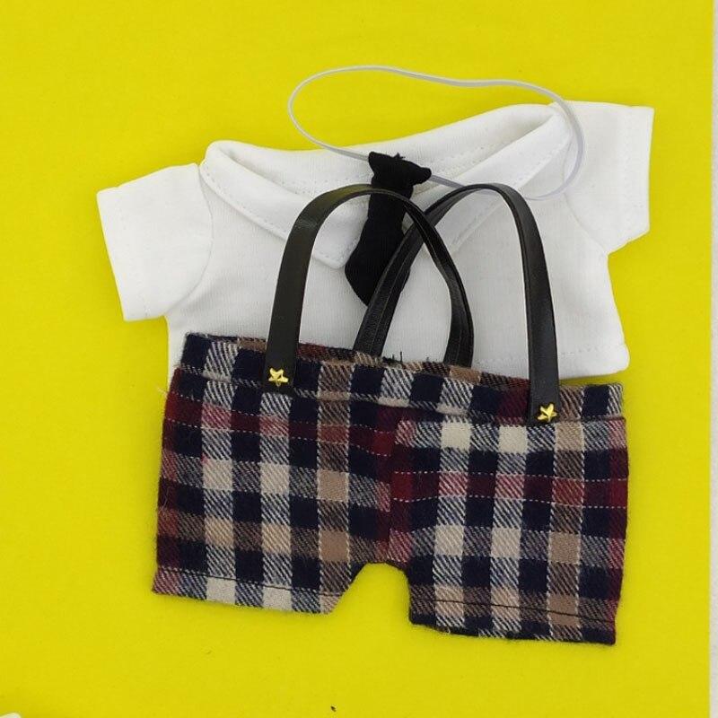 Doll knickers 20cm exo doll knickers shirt tie cloth doll trousers plush doll dress shirt doll accessories недорого