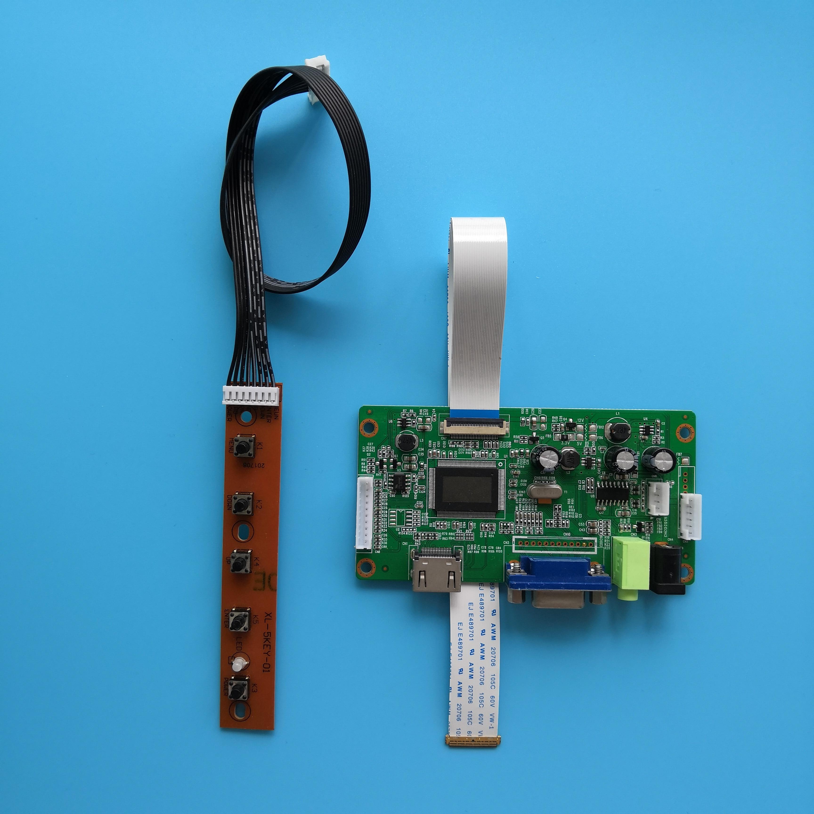 ل LP140WF6-SPF1 رصد EDP EDP 1920 × 1080 عدة VGA شاشة عرض سائق LED تحكم مجلس LCD لتقوم بها بنفسك 30Pin 14