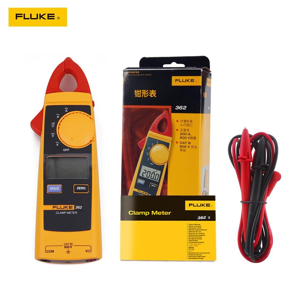 جهاز قياس المشبك الرقمي Fluke 362 ، جهاز اختبار متعدد AC/DC