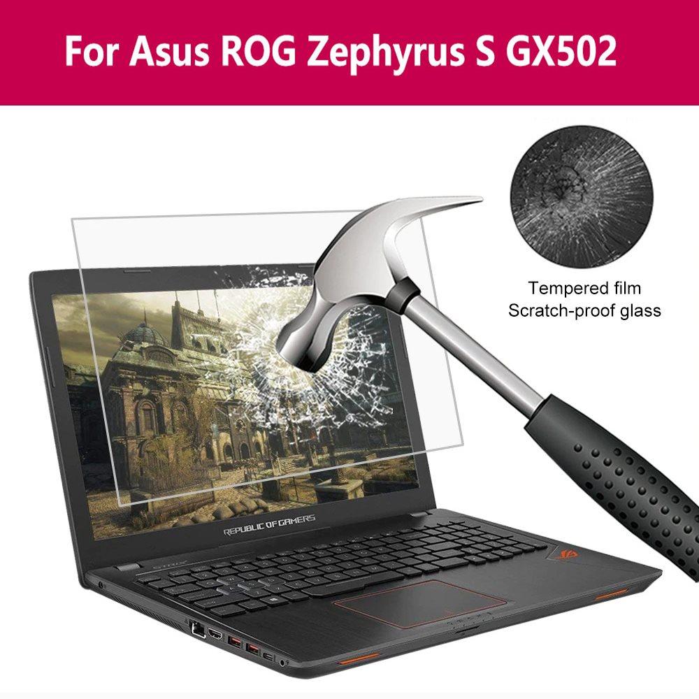Para Asus Rog Zephyrus S Gx502 Real Protector de pantalla de vidrio templado 9H película protectora portátil película de pantalla