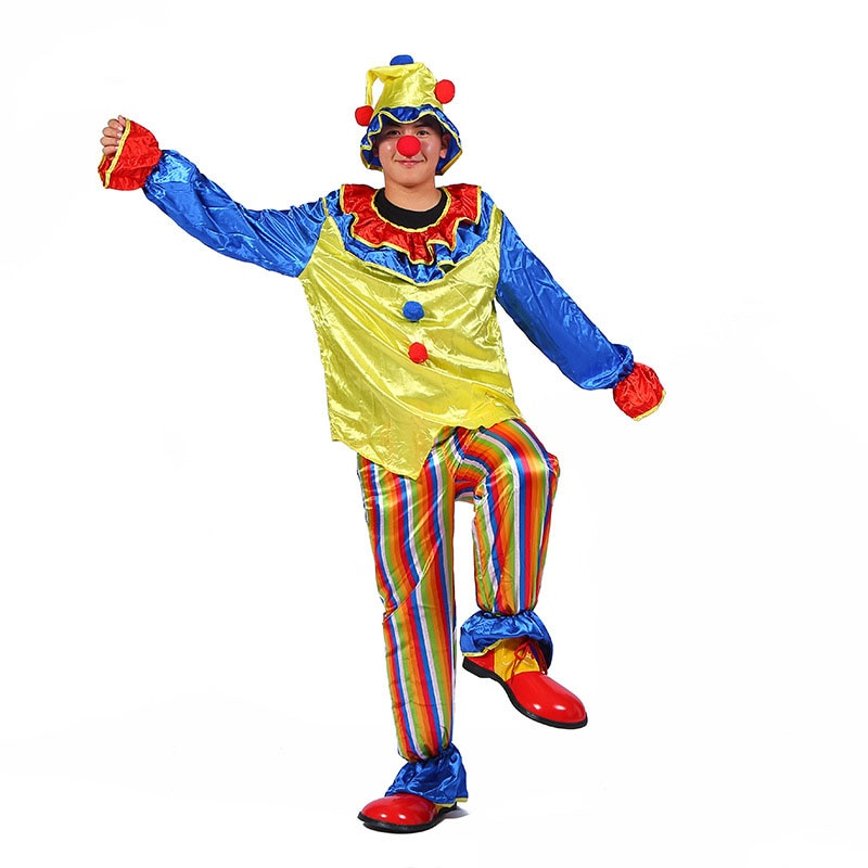 New Costumes For Clowns\' Cosplay Shows  Props Masquerade Party Supplies