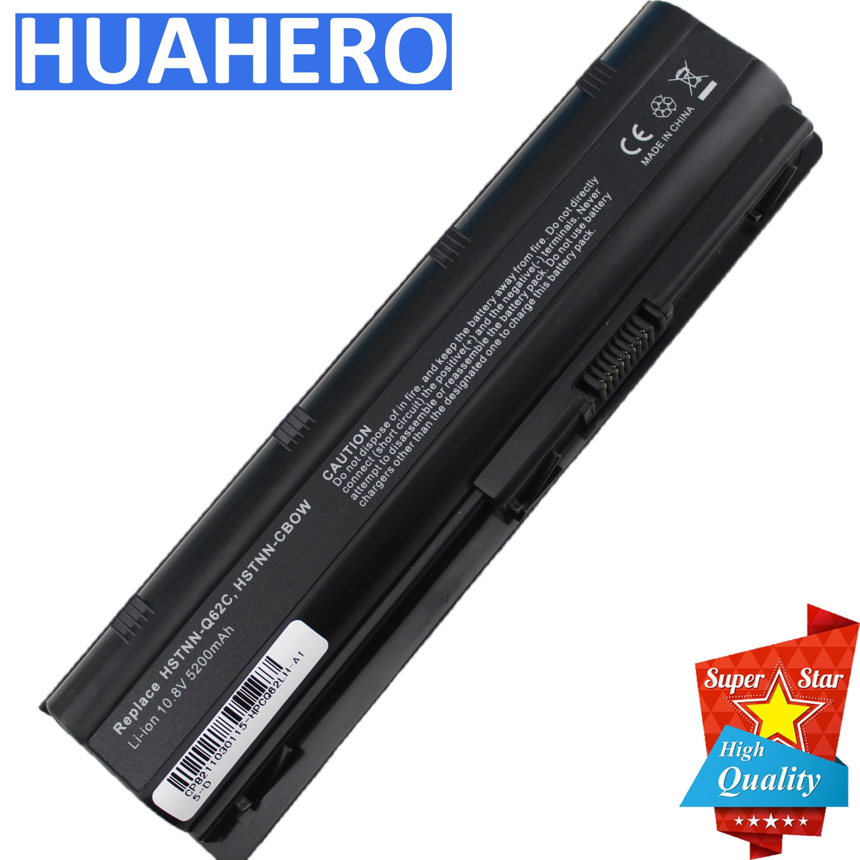 MU06 593553-001 Battery for HP 2000-425NR Notebook CQ32 CQ42 CQ56 CQ62 CQ72 G32 G42 G56 G62 DM4 G72 Laptop CQ43 MU09 593554-001 znovay mu06 laptop battery for hp pavilion g4 g6 g7 cq42 cq32 g42 cq43 cq62 g32 dv6 dm4 g72 593562 001battery mu09 10 8v 47wh