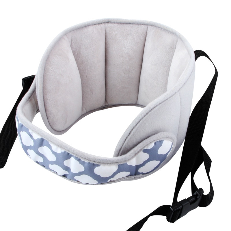 Children Travel Pillow Baby Head Fixed Sleeping Pillow Adjustable Kids Car Seat Head Support Neck Safety Protection Pad Headrest
