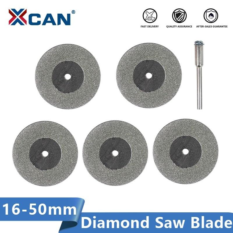XCAN Mini Cutting Disc for Rotary Accessories Diamond Grinding Wheel Rotary Tool Circular Saw Blade Abrasive Diamond Disc