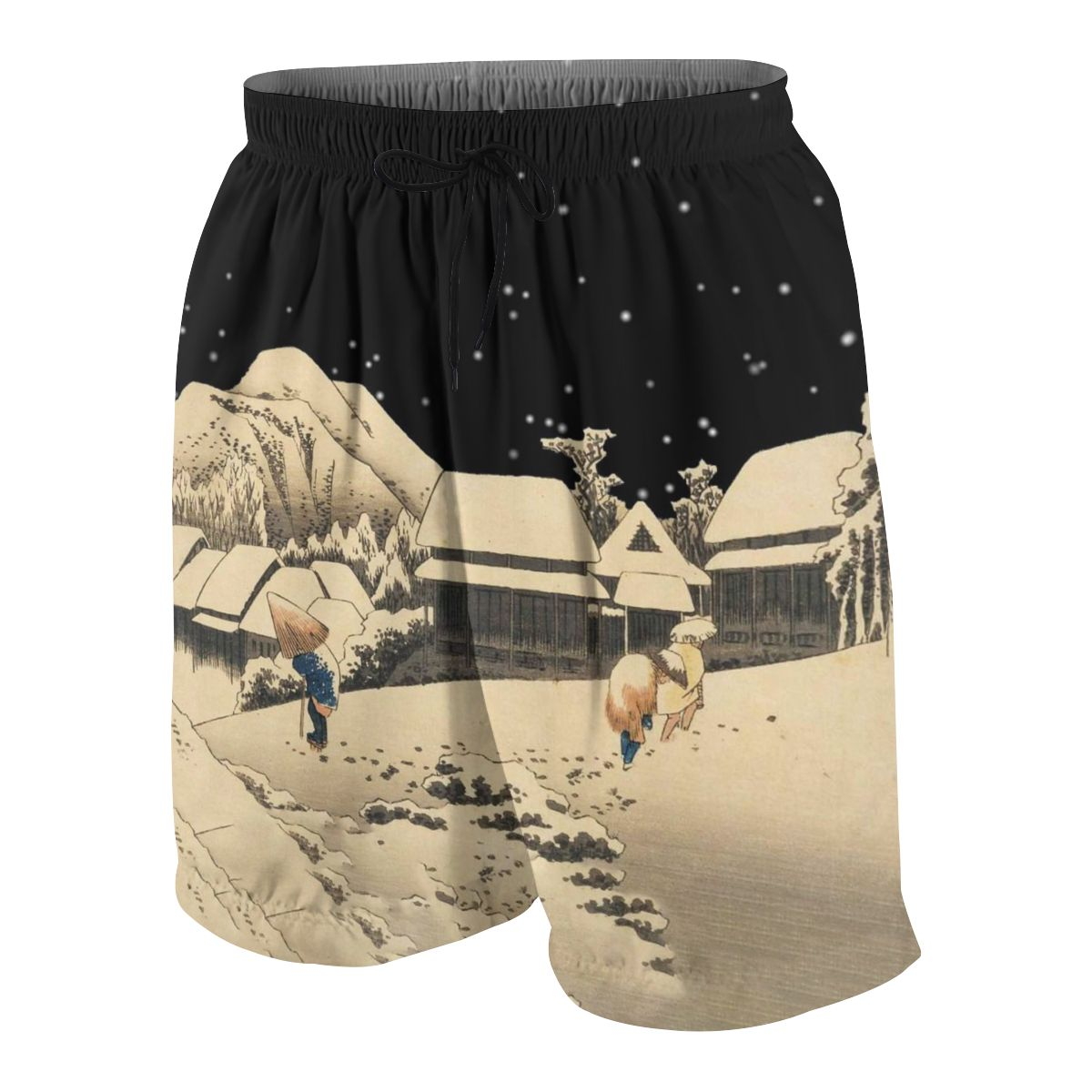 Weezer Pinkerton Summer Young Shorts Cotton For Beach Short Sports Pants 3D Print Elastic Fashion Wild Leisure