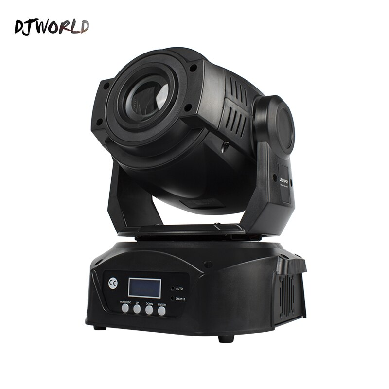 LED 90W Moving Head Light Gobo Color Wheel 6 Facet Prism Led Digital Full Color LCD Screen Control Spot Lamp For DJ Disco Party