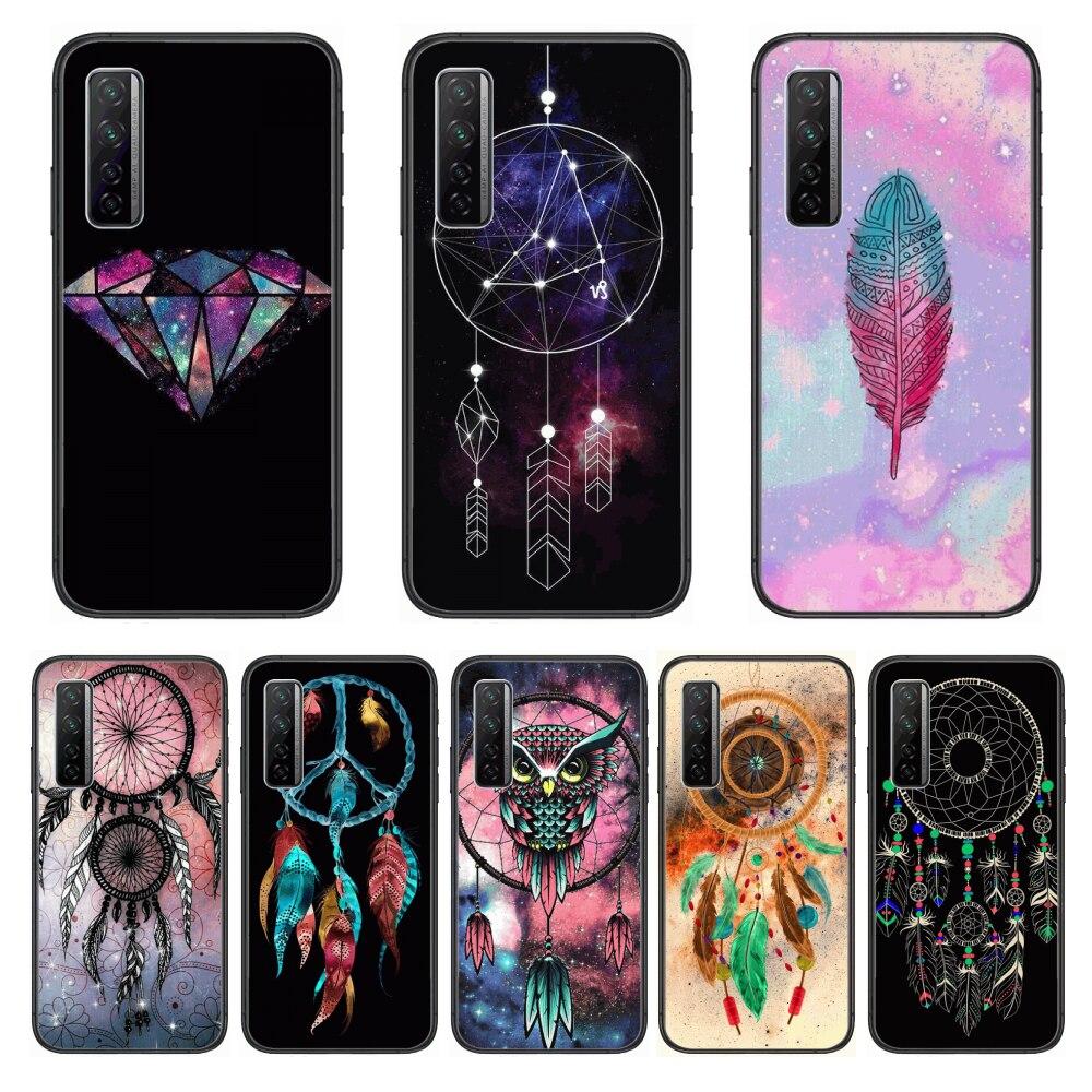 Matte HD Fashion  Phone Case For Huawei Nova p10 lite 7 6 5 4 3 Pro i p Smart ZBlack Etui 3D Coque Painting Hoesje
