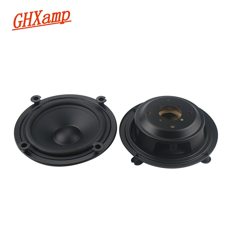 ghxamp 3 inch 3ohm 20w for woofer full range midrange speaker low frequency paper pots neodymium voice coil large stroke GHXAMP 4 inch 5 inch Bass Auxiliary Speaker Passive Radiator Woofer Booster Fake speaker 2PCS