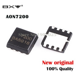 20pcs AON7200 QFN-8 AO7200 7200 MOSFET novo original