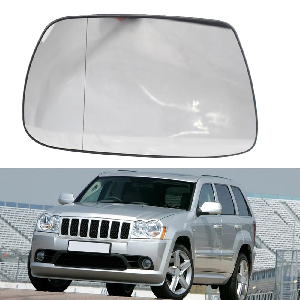 Espejo lateral izquierdo derecho del coche para Jeep Grand cheroki 2005-2010 2006 2007 2008 espejo retrovisor Exterior del coche espejos calientes