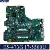 KEFU LA-C341P האם מחשב נייד עבור Acer Aspire E5-473G המקורי mainboard I7-5500U GT920M